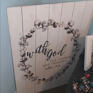 Other - Cute wooden sign for a bedroom/ house